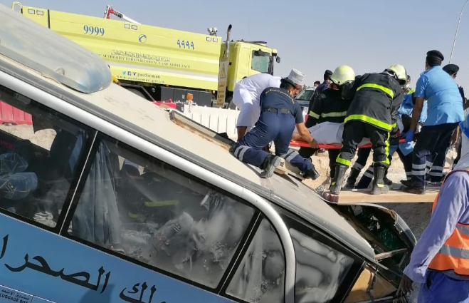 Traffic accident in Oman results in 12 injuries