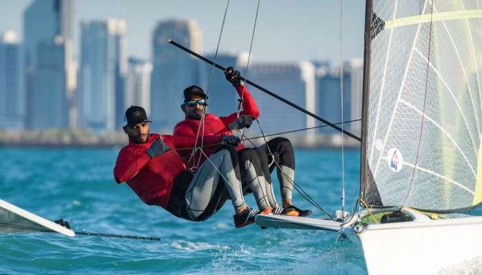 الفريق الأولمبي للإبحار الشراعي يستأنف تدريباته