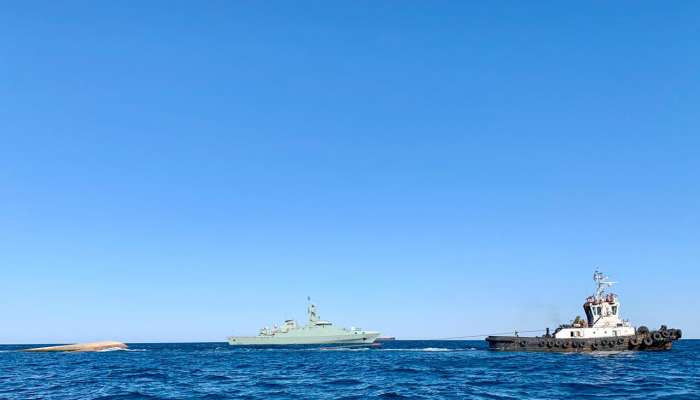 Maritime Security Centre conducts rescue operation