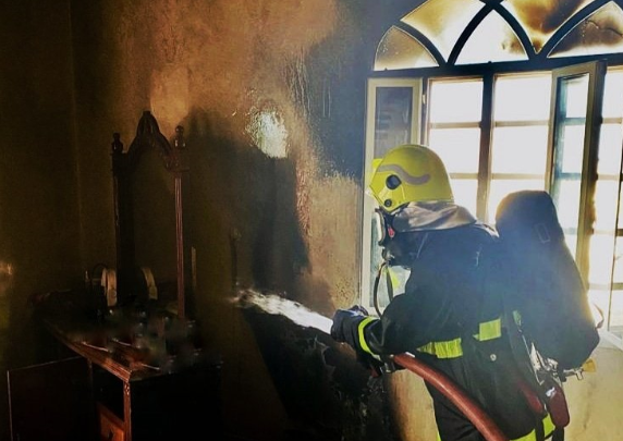 Fire at house in Al Batinah brought under control