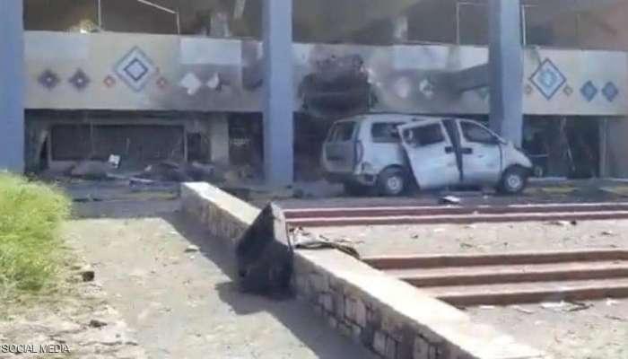 وكالة: نجاة وزراء الحكومة اليمنية من انفجاري مطار عدن