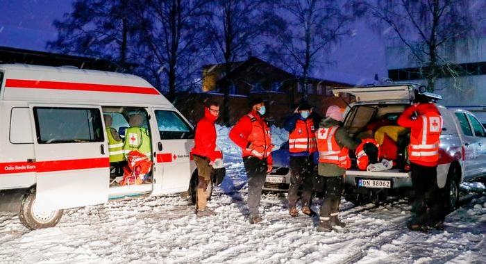 Several people injured in large landslide in Norway