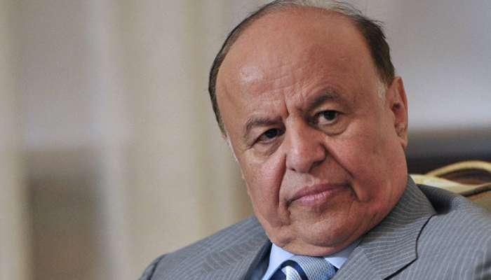 الرئيس اليمني يوجه بتشكيل لجنة للتحقيق في انفجارات مطار عدن