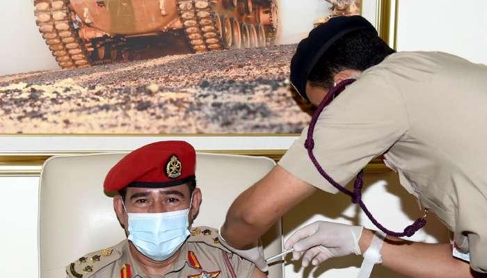 بدء حملة التحصين ضد كوفيد19 في قوات السلطان المسلحة