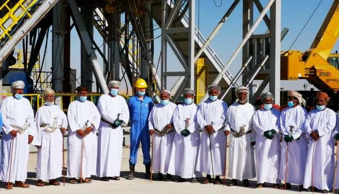 ظفار: تدشين حقل ثمين1 البترولي