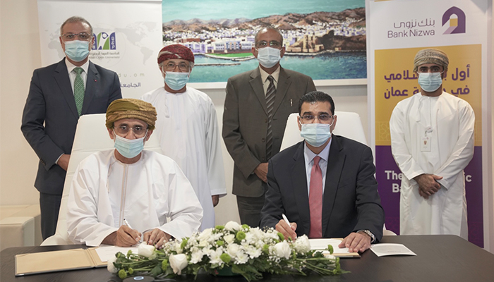 Bank Nizwa signs financing agreement for construction of Arab Open University campus in Oman