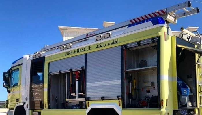 الدفاع المدني يخمد حريق في شب في منزل بمسقط.. وإصابة امرأة
