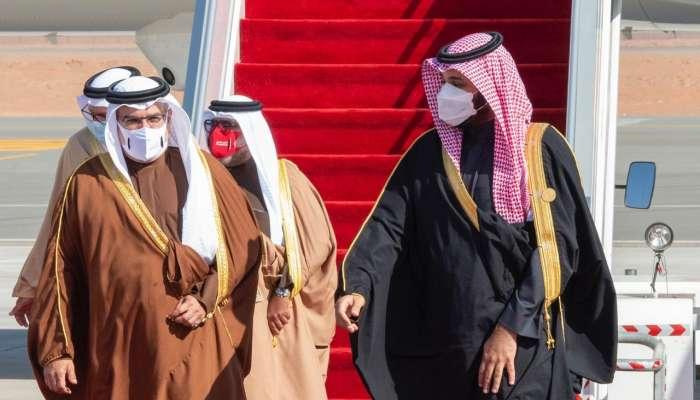 توافد قادة الخليج على مدينة العلا لحضور القمة الخليجية الـ41