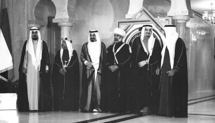 تسجيل نادر للحظة إعلان تأسيس مجلس التعاون الخليجي