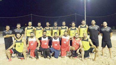 المنتخب الوطني لكرة اليد الشاطئية يؤجل معسكره التدريبي