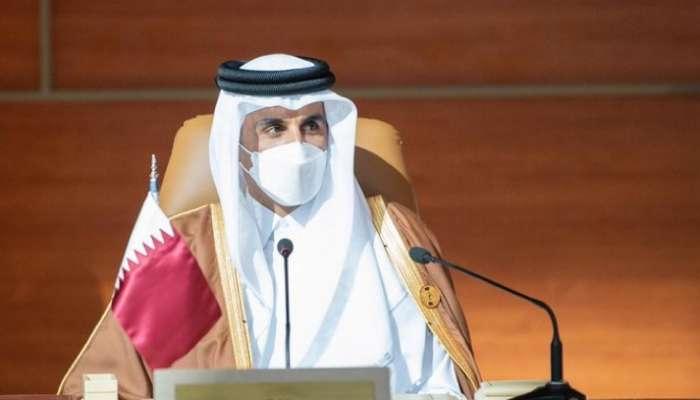 أمير قطر يعلق على مشاركته في القمة الخليجية