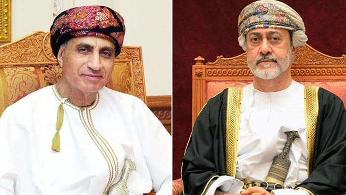 His Majesty receives greetings cable on Accession Day from Sayyid Fahd
