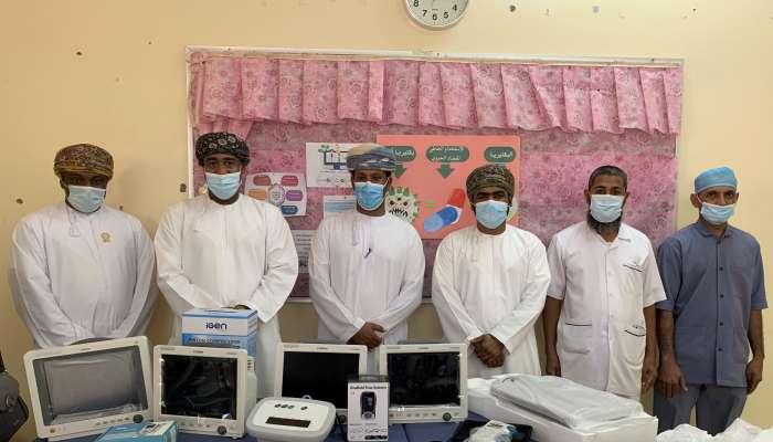 إشراقة تتبرع بمعدات طبية لمركز إبراء الصحي