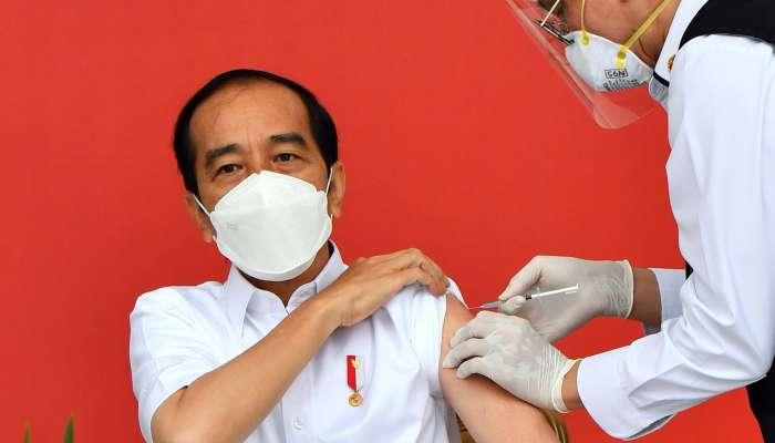 بدء حملة التطعيم ضد كورونا في إندونيسيا