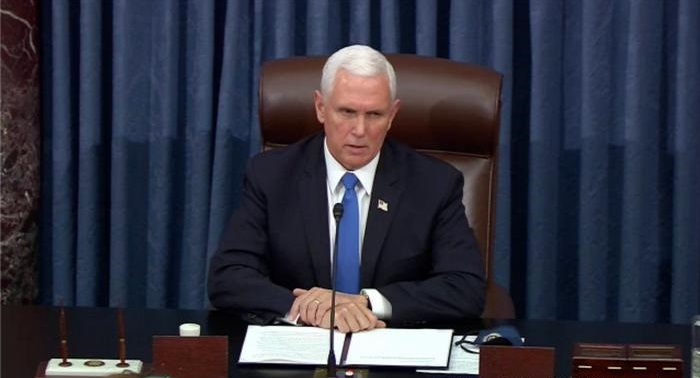 US Vice President Mike Pence refuses to invoke 25th amendment