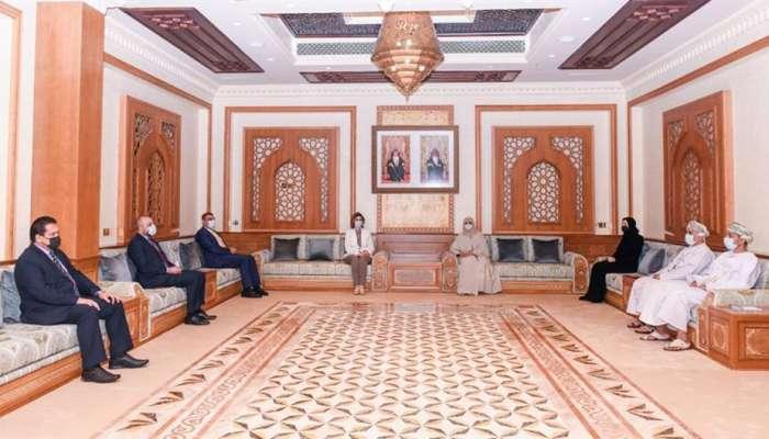 وزيرة التنمية الاجتماعية تستقبل وزيرة الهجرة والمهاجرين العراقية