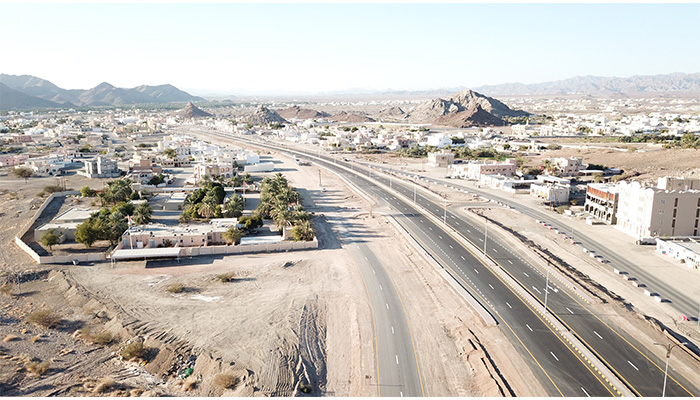 Yaquel dual carriageway internal road opens