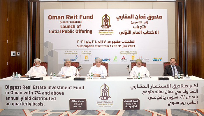 OMR65.48 million Oman REIT Fund launched