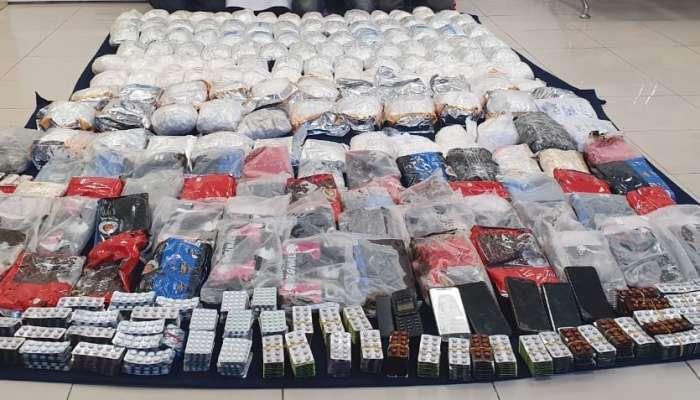 الشرطة تضبط 4 أشخاص متهمون بتهريب المخدرات مع عصابات دولية
