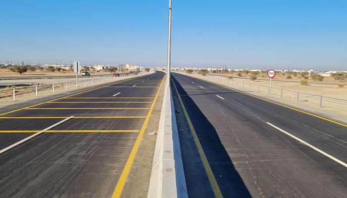 افتتاح الحركة المرورية الكاملة لمشروع إزدواجية طريق السويق - الحوقين