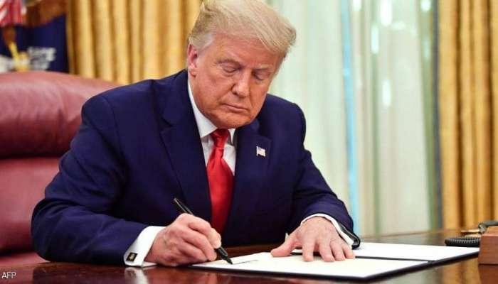 ترمب ترك رسالة لجو بايدن داخل البيت الأبيض