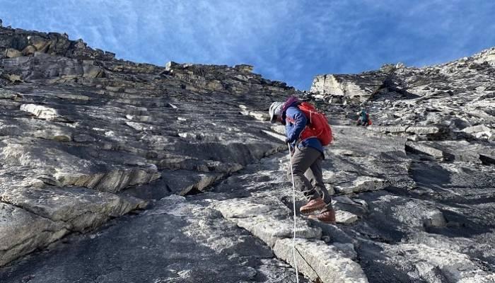 Faced sub-zero weather, 100 kph wind speeds on Ama Dablam climb:  Nadhira Al Harthy