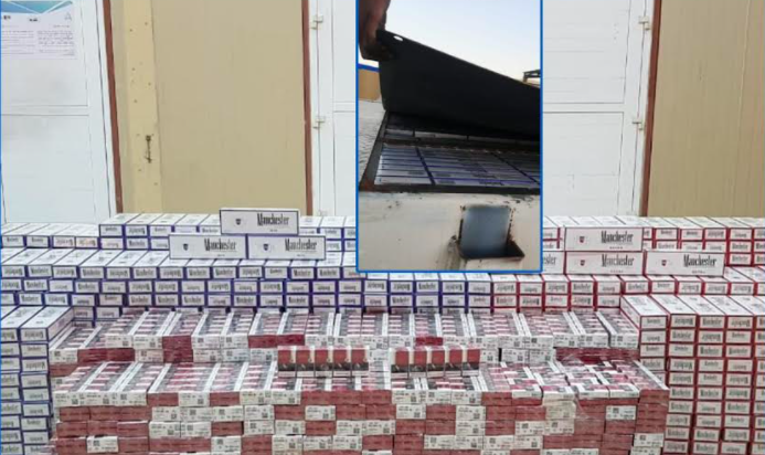 Oman Customs uncovers cigarette smuggling operation