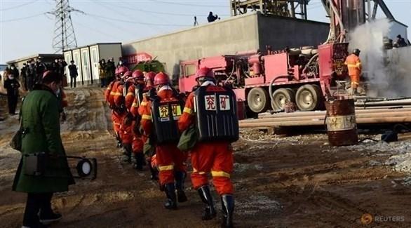 إنقاذ عامل منجم ذهب في الصين ظل محاصرا تحت الأرض 14 يوما في أعقاب انفجار