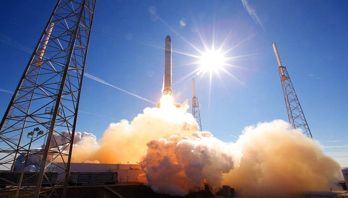 SpaceX's first dedicated rideshare rocket carrying record-breaking payload satellites to be launched