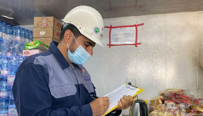 Madayn officers conduct safety inspections in Oman