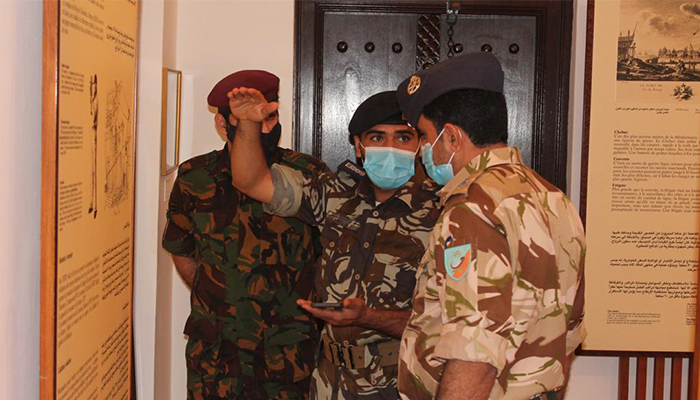 Staff of Oman's Armed Forces Museum visit Omani and French Museum
