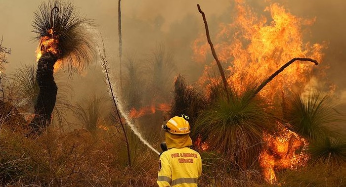 Hundreds evacuated as Perth bushfire grows