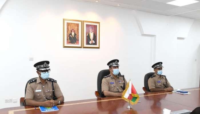 الشرطة تشارك في اجتماع للإنتربول