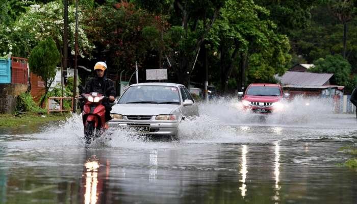 تراجع حدة الفيضانات في ولاية ساراواك بماليزيا