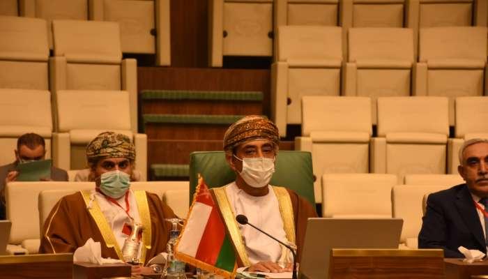 السلطنة تشارك في الاجتماع الطارئ لمجلس جامعة الدول العربية