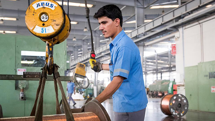 Industrial sector's contribution to GDP amounted to OMR3.2bn