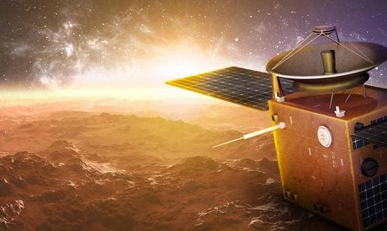 مسبار الأمل يصل إلى كوكب المريخ و وزارة النقل تهنئ