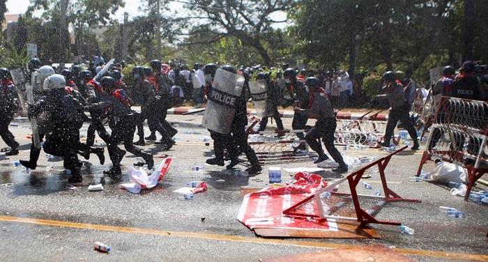 US, UN condemn violence against Myanmar protesters