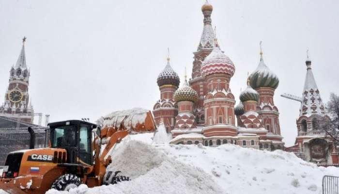 عاصفة ثلجية عنيفة متوقعة على موسكو في نهاية الأسبوع الجاري