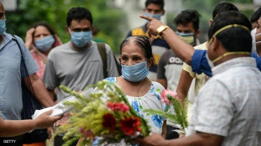 الهند تسجل 12923 إصابة جديدة بكورونا