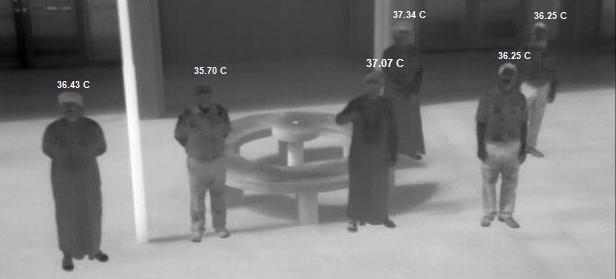 عماني يبتكر نظامًا للكشف عن الحالات المشتبه بإصابتها بكورونا