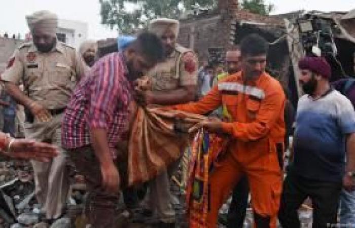 مصرع 19 شخصًا في انفجار مصنع بالهند