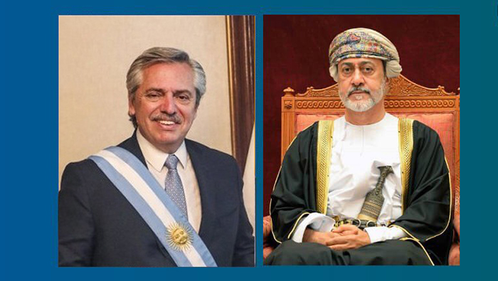 His Majesty sends cable of condolences to President of Argentina