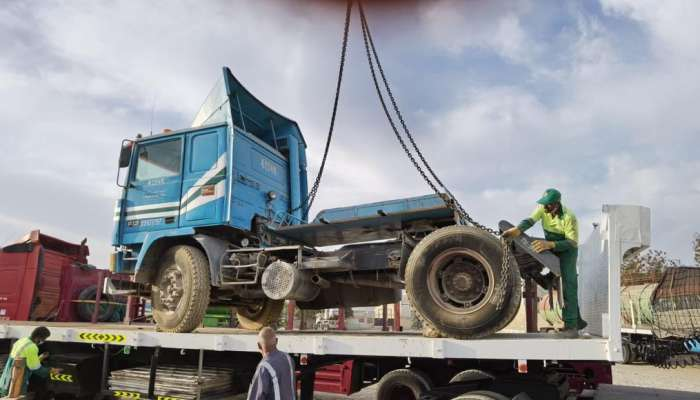 Abandoned cars removed from Muscat streets