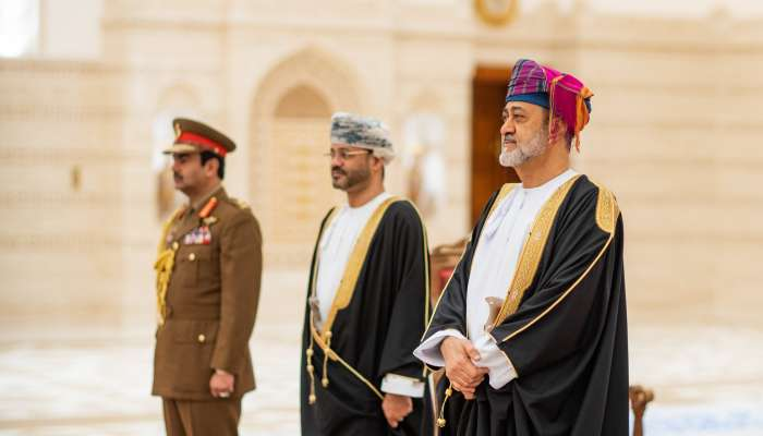 His Majesty accepts credentials of ambassadors