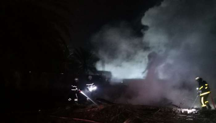 Fire at farm in Muscat brought under control