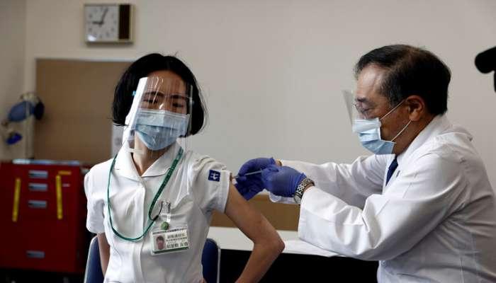 انطلاق حملة التطعيم في اليابان ضد كورونا