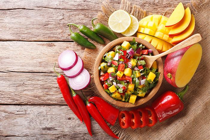Divergent flavours of  Mexican cuisine