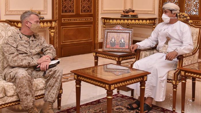 Al Nu'mani meets top US commander,  reviews historic ties