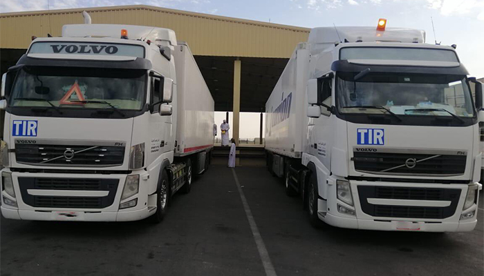 Road transport system launched between Oman and Saudi Arabia